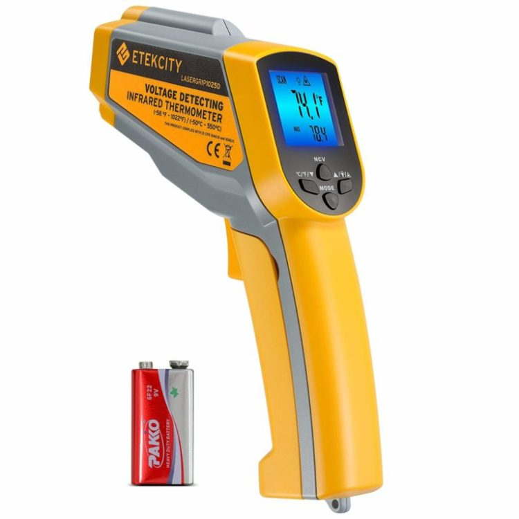 1*Non-Contact Industrial Thermometer LCD IR Infrared Digital Temperature Durable