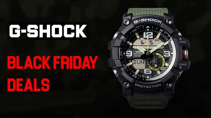 Up To 65 2020 Casio G Shock Watches Black Friday Cyber Monday Deals Survivalmag